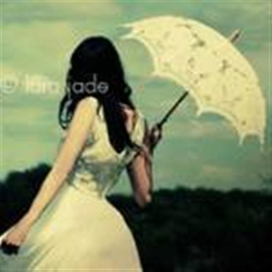 打雨伞的女生qq头像