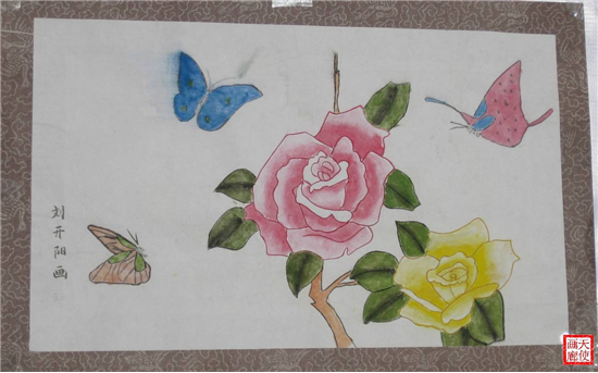 初中生优秀绘画作品;; 初中生绘画作品小学生电脑绘画; 三年级绘画图片